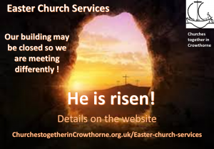Details of Crowthorne and Finchampstead Church Services Easter 2020